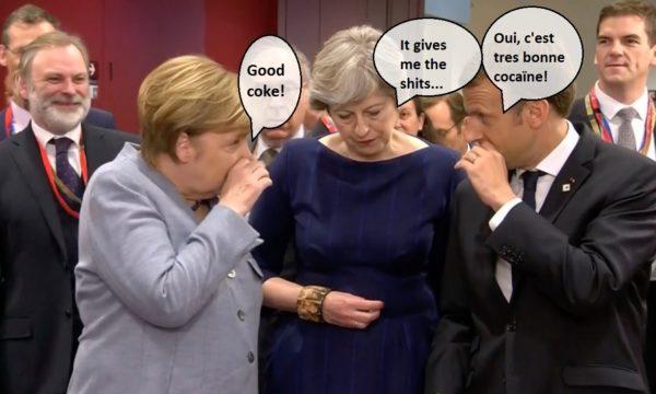 Merkel Calls PM 'A Major Buzzkill'