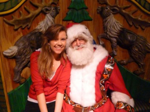 Santa Would Prefer If You Didn't Sit On His Lap?