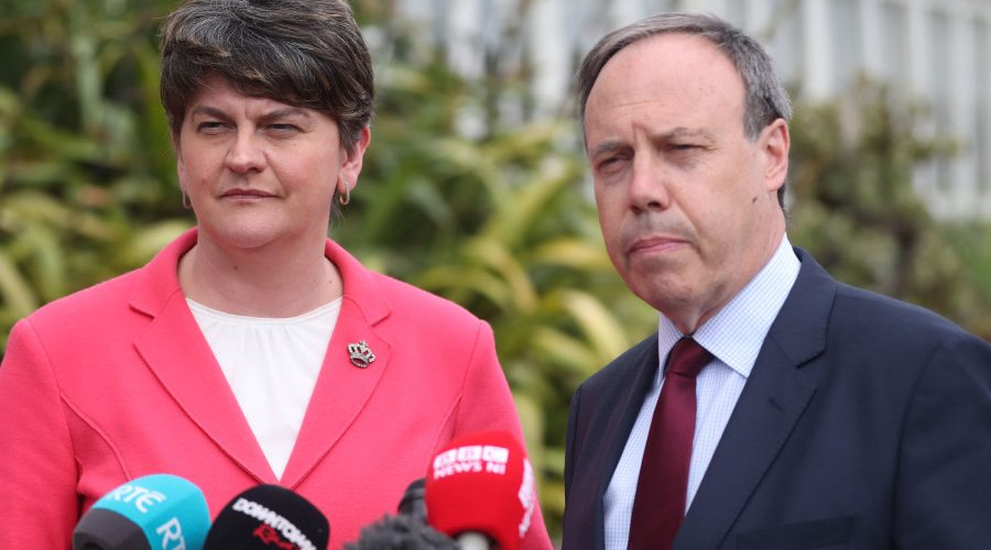 Foster Says Existence Of Logic Came As 'Big Shock' To DUP