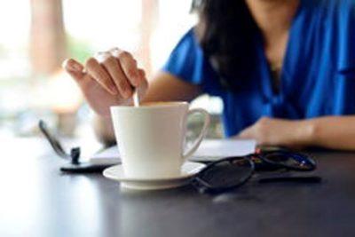 Woman Stirs Tea 'Like A Lioness'