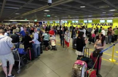 Endless Glamour Of Airline Travel Finally Getting To Ryanair Cabin Crew