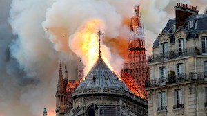 Hunchback Emerges As Main Suspect In Notre Dame Fire