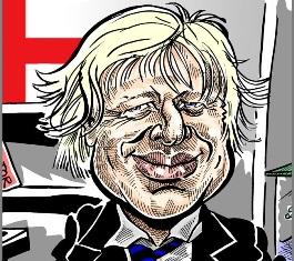 The Actor Boris 'Crikey' Johnson