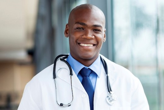 New Doctor First Black Man To See Woman's Tits
