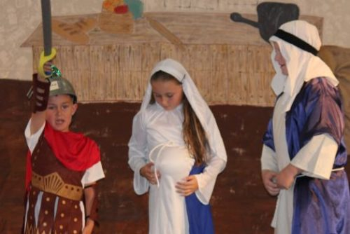 """Is This A Hill You Want To Die On?"" Priest Asks 5-Year-Old Playing Centurion In Nativity Play"