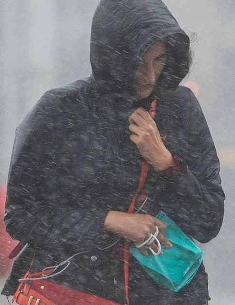 Woman Was Under The Impression She Owned A Waterproof Jacket