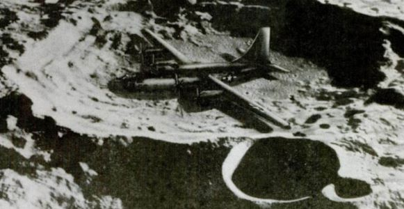 WWII Bomber On Moon Stolen By China