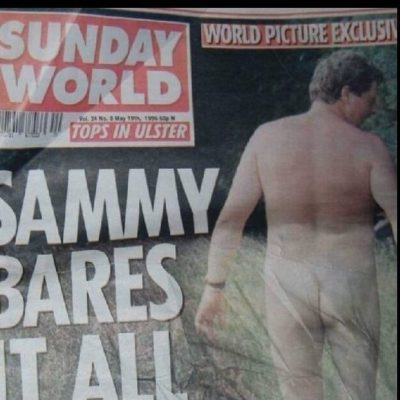 Naked Hypocrisy Of Wee Sammy