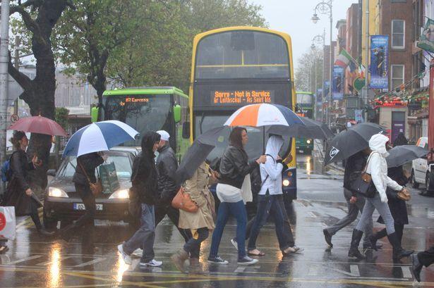 Kerryman Delighted It's Raining In Dublin