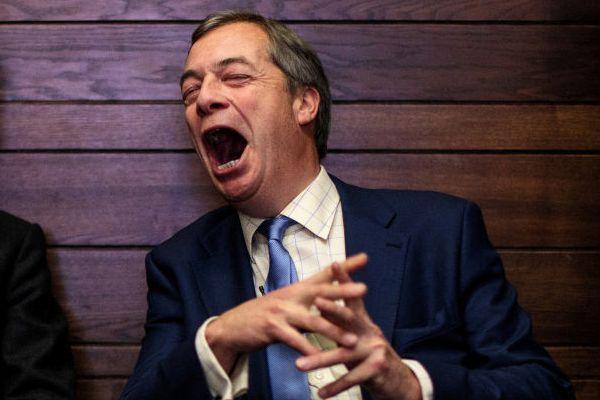 Nigel 'Fool Me Twice' Farage, Fooled Twice